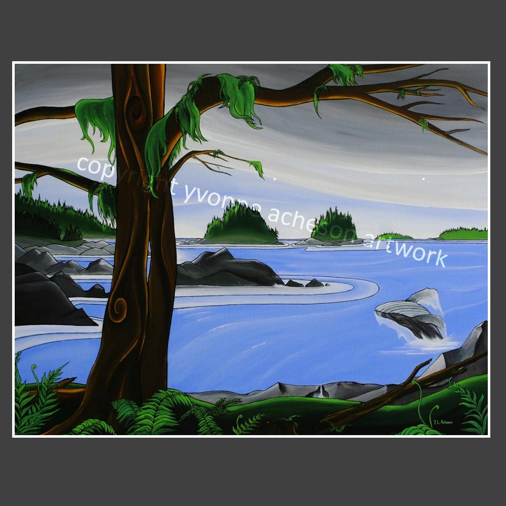 Broken Islands Yvonne Acheson Art